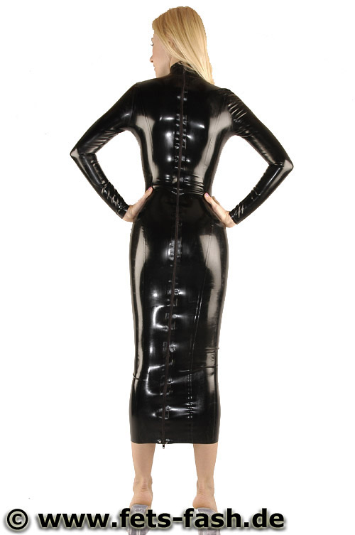 Long Latex Dress With Back Zip Eur 179 90 Gt Catsuit